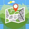 地図から病院を探す